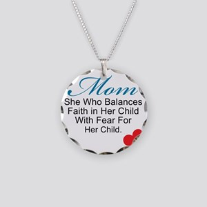 2-mom (2) Necklace Circle Charm