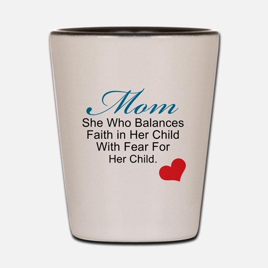 2-mom (2) Shot Glass