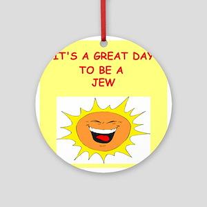 JEW Ornament (Round)