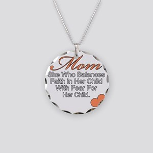 momb (3) Necklace Circle Charm