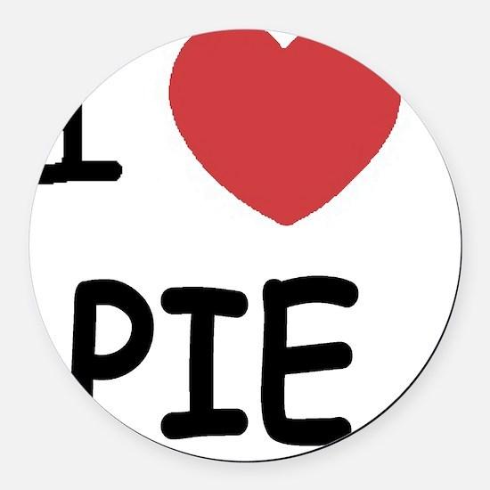 PIE01 Round Car Magnet