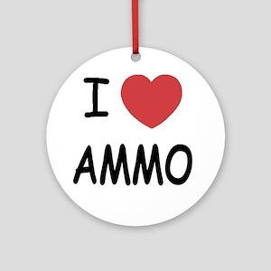 AMMO01 Round Ornament
