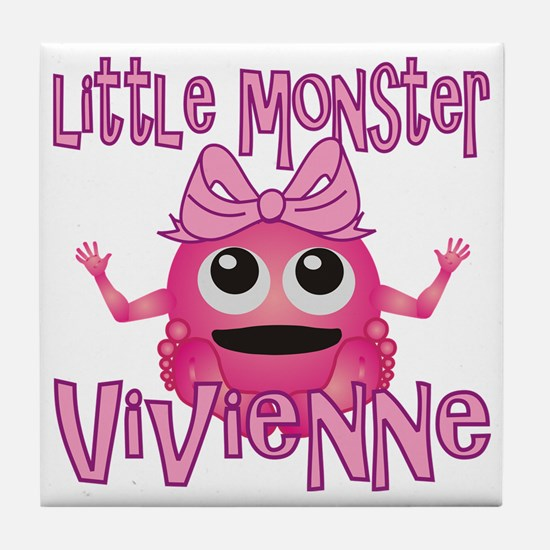 vivienne-g-monster Tile Coaster
