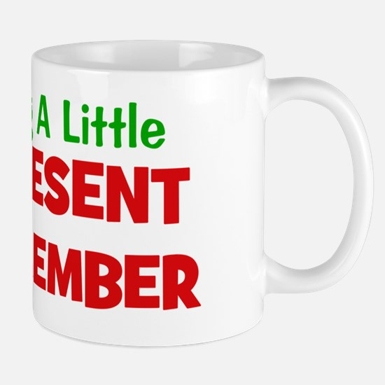 expectingalittlepresentindecember Mug