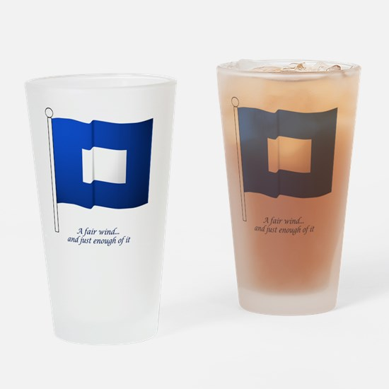 bluepeter[7x7_apparel] Drinking Glass