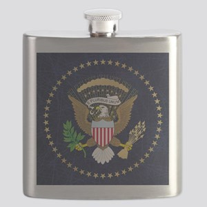 Presidential Seal Flask