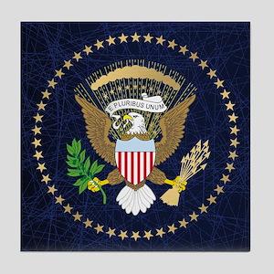 Presidential Seal Tile Coaster