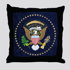 Presidential Seal Throw Pillow