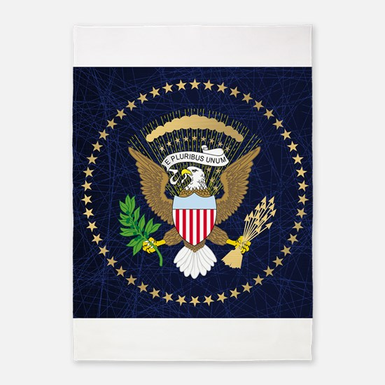 Presidential Seal 5'x7'Area Rug