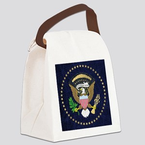 Presidential Seal Canvas Lunch Bag