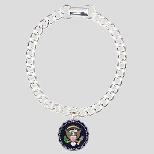 Presidential Seal Charm Bracelet, One Charm