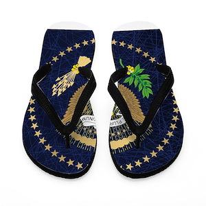 e0c6eb70e39a Reagan Bush Flip Flops - CafePress