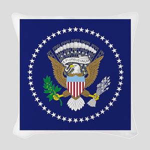 Presidential Seal Woven Throw Pillow