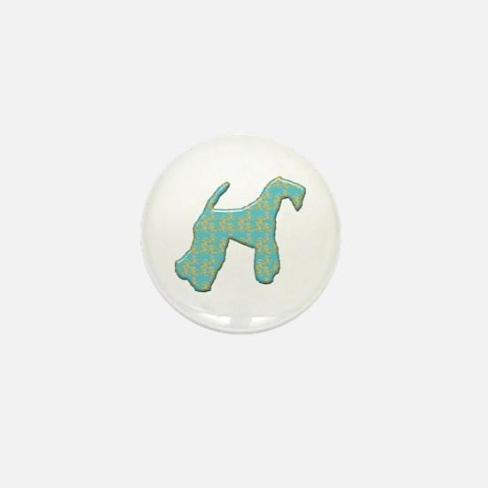 Paisley Kerry Mini Button