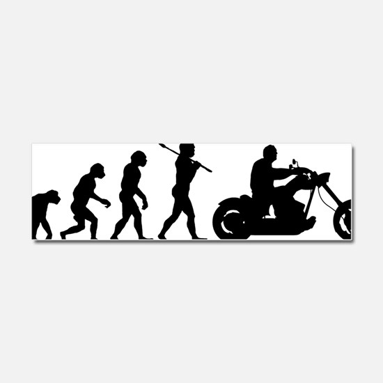Bike Rider Car Magnet 10 x 3