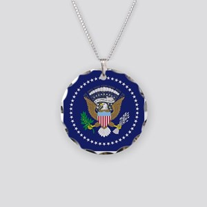 Presidential Seal Necklace Circle Charm