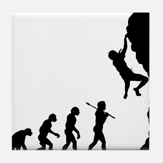 Rock Climbing 2 Tile Coaster