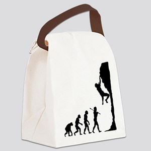 Rock Climbing 2 Canvas Lunch Bag