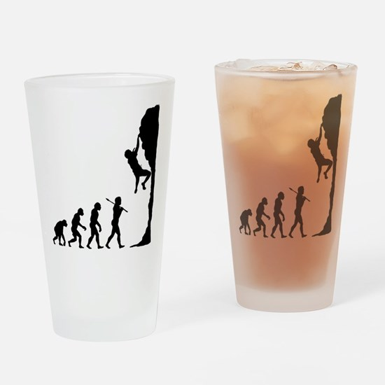 Rock Climbing 2 Drinking Glass