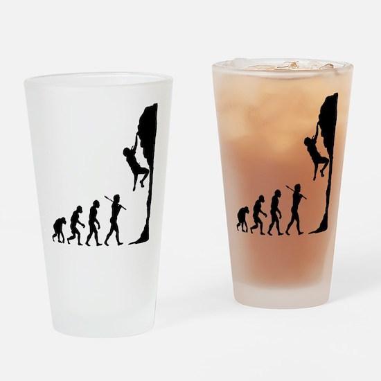 Rock Climbing 2 Drinking Glass
