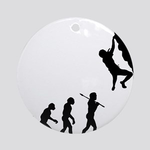 Rock Climbing 2 Round Ornament