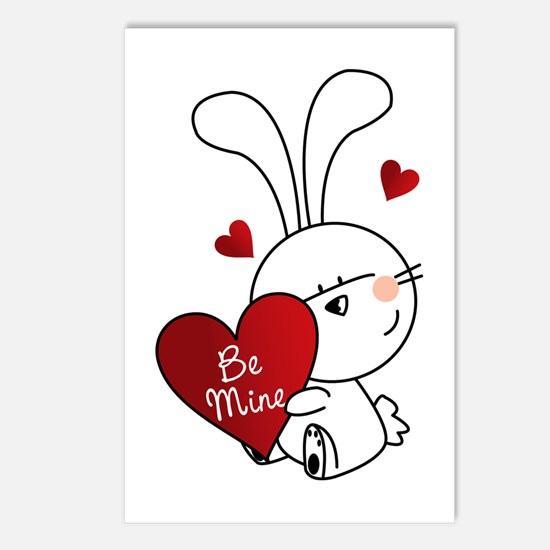 Be Mine Postcards (Package of 8)
