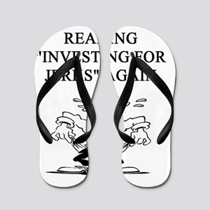 money joke Flip Flops