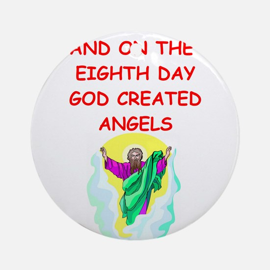 ANGELS.png Ornament (Round)