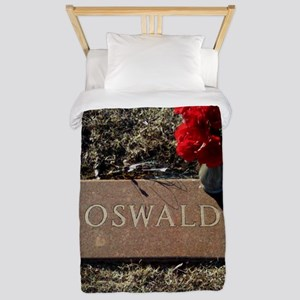 Lee Harvey Oswald 1939-1963(framed pane Twin Duvet