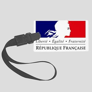 REPUBLIQUE FRANCAISE Large Luggage Tag