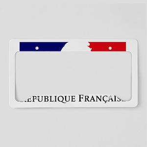 REPUBLIQUE FRANCAISE License Plate Holder