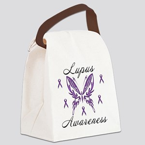 Lupus Awareness Canvas Lunch Bag