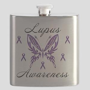 Lupus Awareness Flask