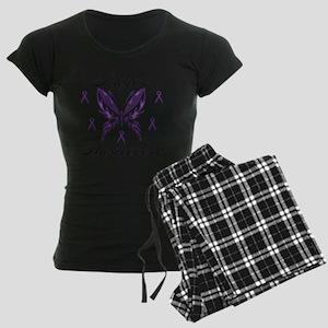 Lupus Awareness Women's Dark Pajamas
