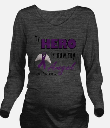 My Hero is now my An Long Sleeve Maternity T-Shirt
