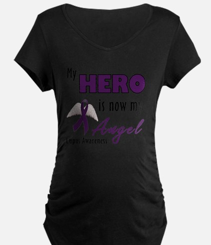 My Hero is now my Angel - L T-Shirt
