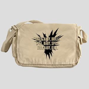 DRILL_BABY_SPILL Messenger Bag