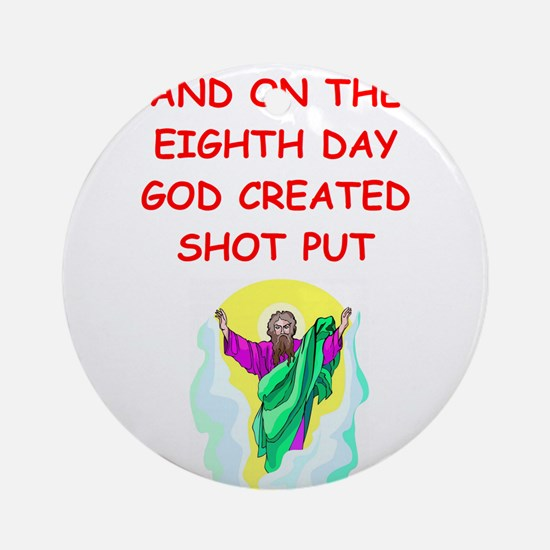 SHOT.png Ornament (Round)