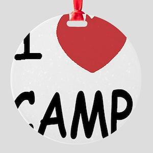 CAMP01 Round Ornament