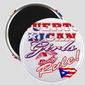 puerto rican girls rule Magnet