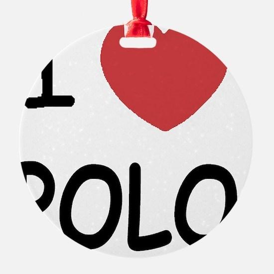 POLO01 Ornament