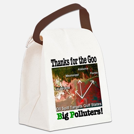 thanks_for_the_goo_BP Canvas Lunch Bag