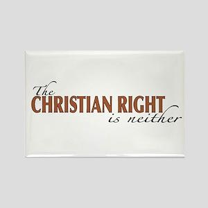 Christian Right Rectangle Magnet