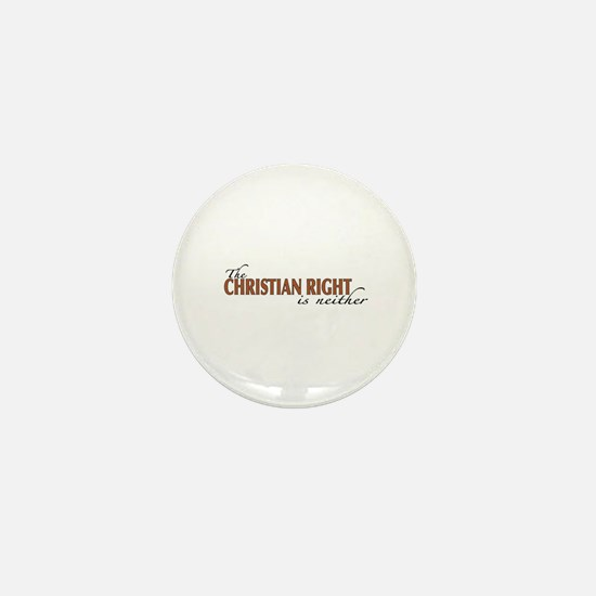 Christian Right Mini Button