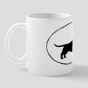wirehairdoxiesticker Mug