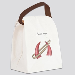 Im an Angel Canvas Lunch Bag