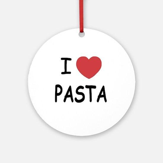 pasta01 Round Ornament