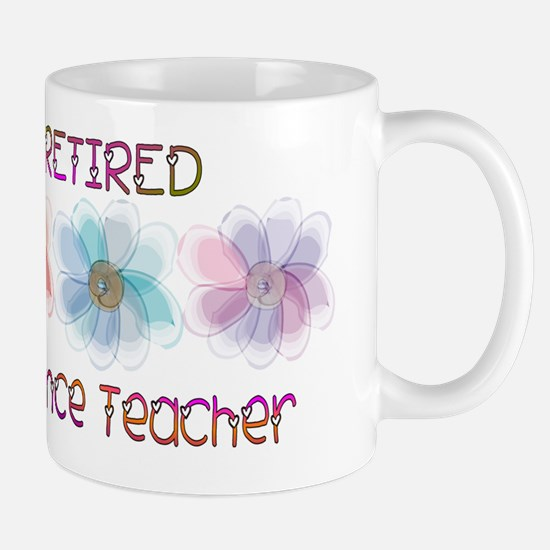 Retired Science Teacher Mug