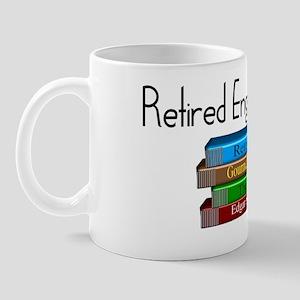 Retired English Teacher Mug
