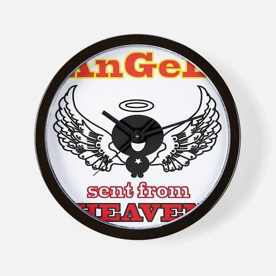 angel png 2 Wall Clock